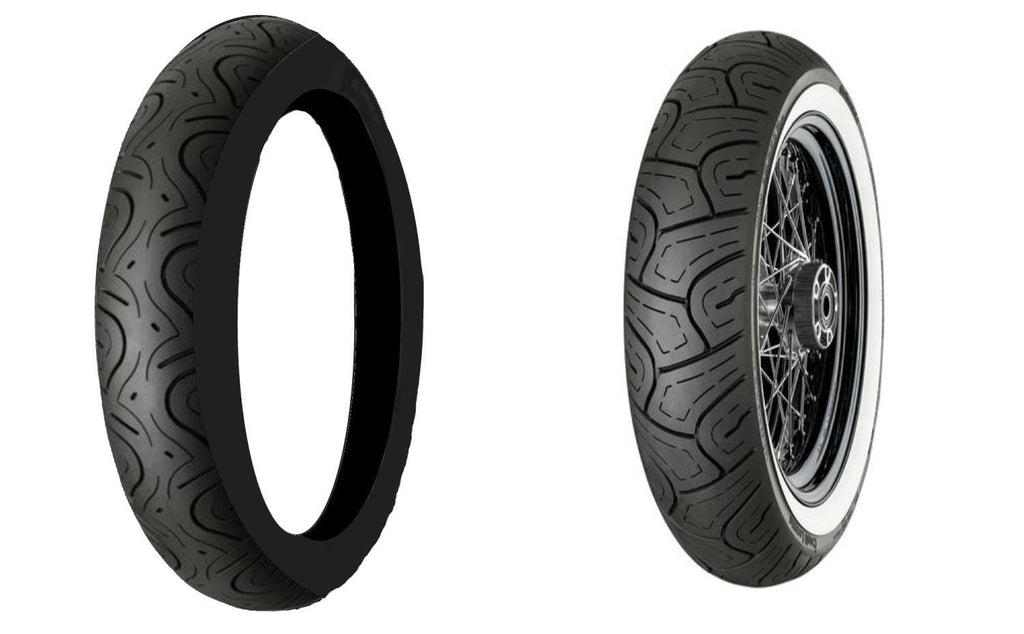 CONTINENTAL WWW Legend Front & Rear Tire Set, 130/90-16 67H & 180/65B16 81H