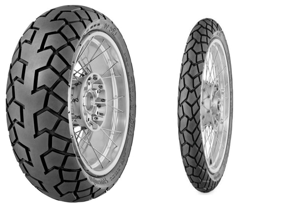 Continental Tires Other TKC70 Dual Sport Front & Rear Tire Set, 120/90R17 64T & 130/80R17 65T