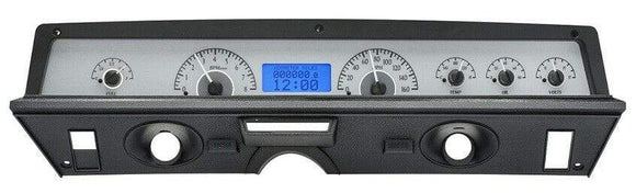Dakota Digital Car & Truck Gauges Dakota Digital 71-76 Impala Caprice Analog Gauge Kit Silver Blue VHX-71C-CAP-S-B