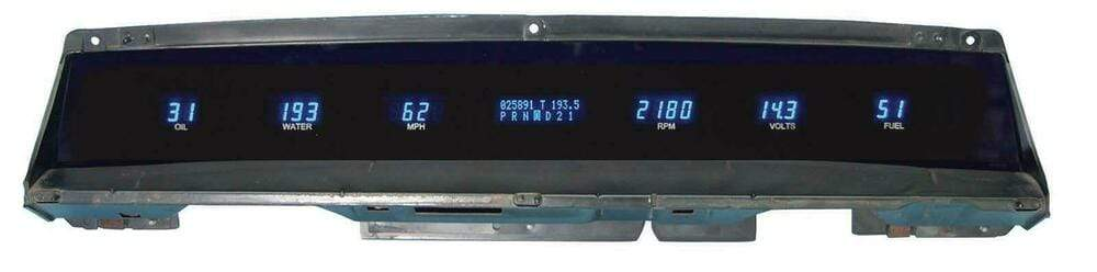 Dakota Digital 71-76 Impala/Caprice Dash Gauges VFD3X-71C-IMP LS