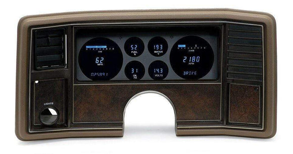 Dakota Digital Car & Truck Gauges Dakota Digital 78-88 Chevy Monte Carlo 78-87 El Camino Gauge System VFD3-81C-MC