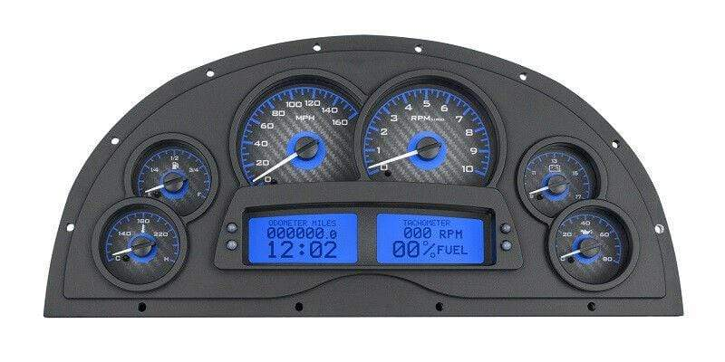 Dakota Digital Analog Gauge Kit for 67 68 69 Camaro Marquez Designs VHX-1200-C-B
