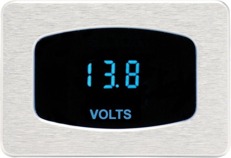 Dakota Digital Odyssey Series I Rectangle Bezel Volt Voltmeter Gauge ODY-05-1