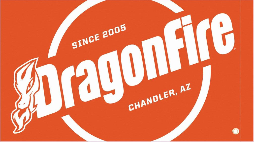 DragonFire Racing Orange Safety Flag - One-sided Print - 04-0107