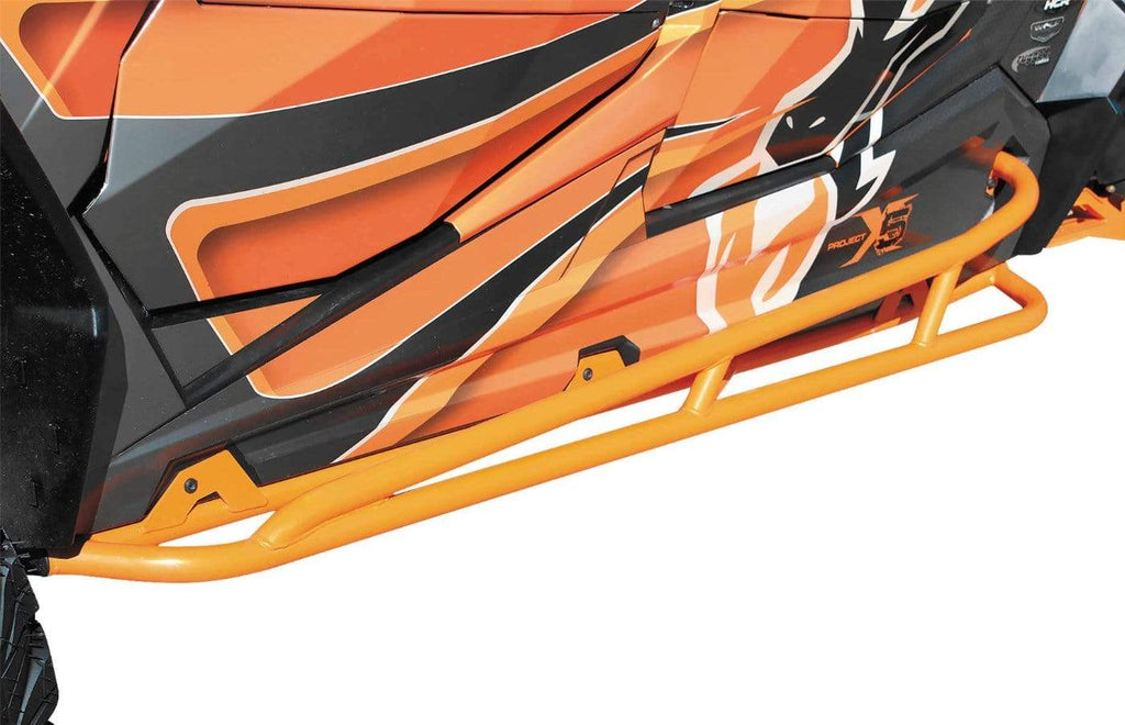 DragonFire Racing RacePace Nerf Bars for 2 Seat Polaris XP 1000 and RZR 900 - Orange - 01-1122