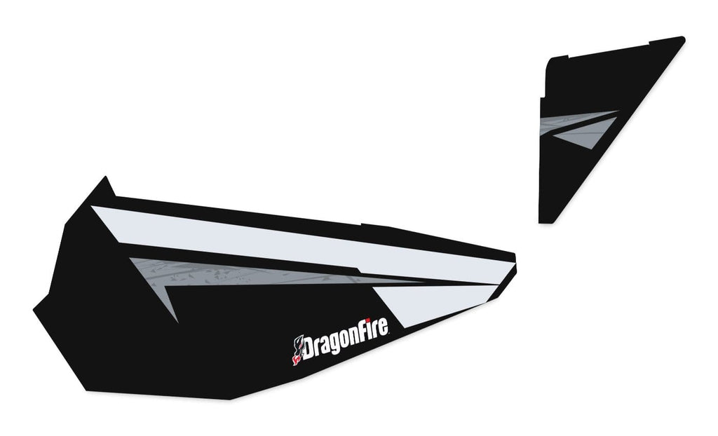 DragonFire Racing RZR XP 1000 Door Graphics - Black Pearl - 07-1107