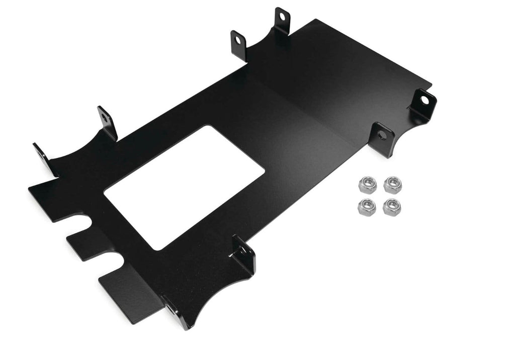 DragonFire Racing Front End Gusset Kit for Polaris RZR - Black - 16-1121