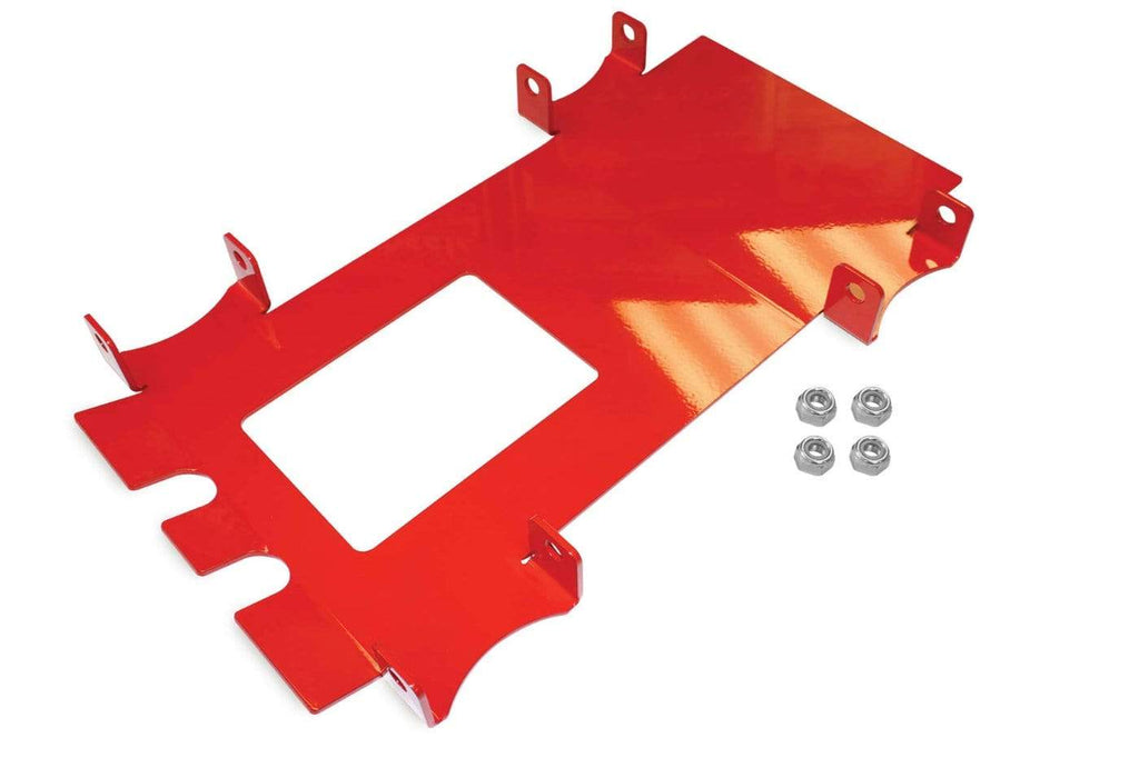 DragonFire Racing Front End Gusset Kit for Polaris RZR - Red - 16-1120