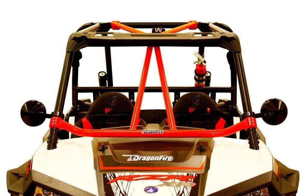 DragonFire Racing RacePace Flying V Bar for RZR XP 1000 and RZR 900 Models - Red - 01-1103