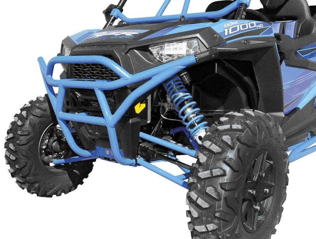 DragonFire Racing RacePace Front Bumper for RZR XP 1000 and RZR 900 Models - Blue  - 01-1114