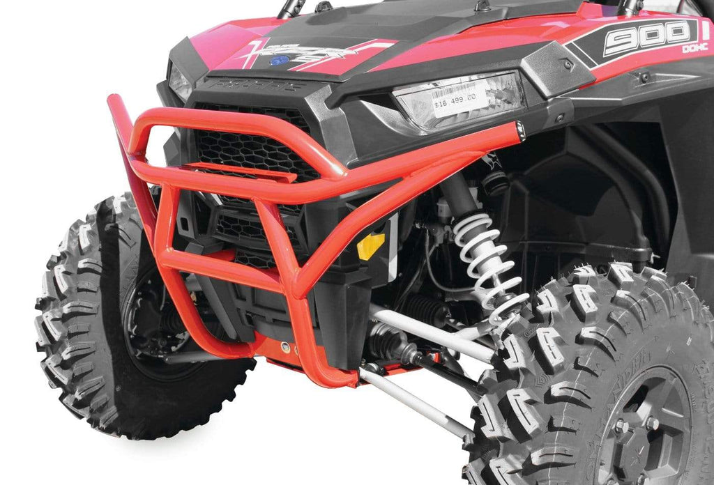 DragonFire Racing RacePace Front Bumper for RZR XP 1000 and RZR 900 Models - Red - 01-1101