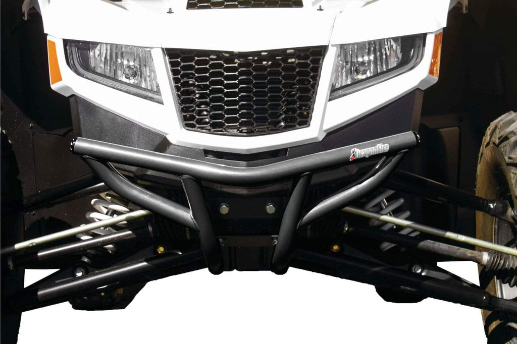 DragonFire Racing RacePace Front Bumper for Wildcat XX - Gray - 01-3811