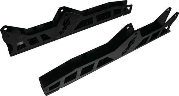 Dragonfire Racing Body DragonFire Racing Trailing Arm Guards For Polaris RZR - Black - 16-1805