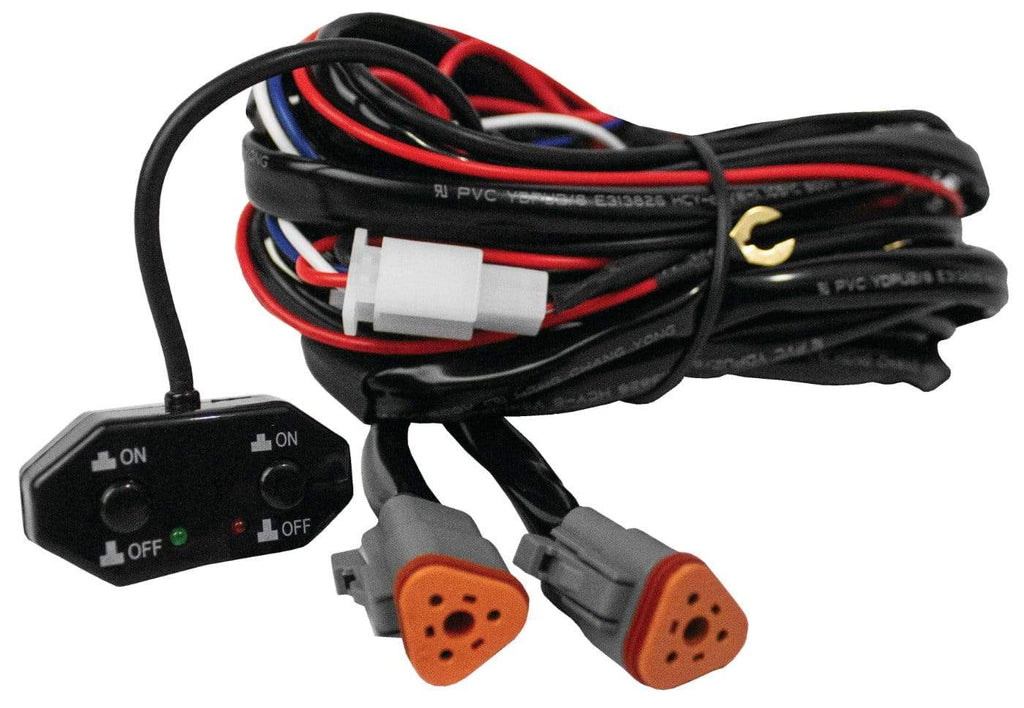 DragonFire Racing Hi-Intensity Driving Light Harness - Dual - 11-0821