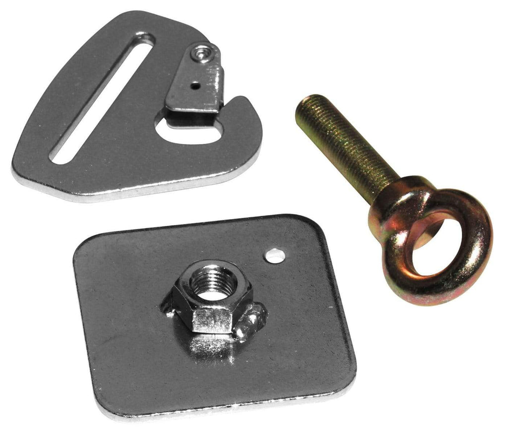 DragonFire Racing Quick-Release Snap Hook Harness Tab Kit - Sub Belt - 14-0089