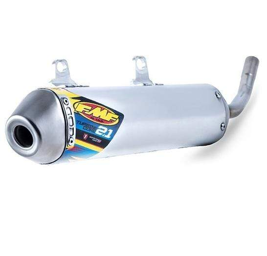 FMF Exhaust Turbinecore 2.1 Silencer with Spark Arrestor for YAMAHA YZ250X 2016-2017