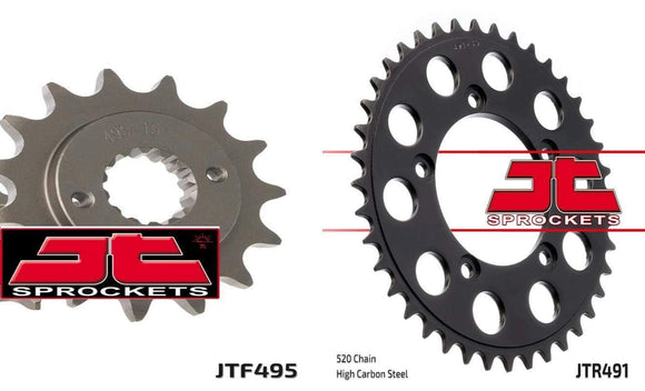 Jt Sprockets Body Front & Rear Sprocket Kit for DUCATI 750 Paso 88-90 JT Sprockets