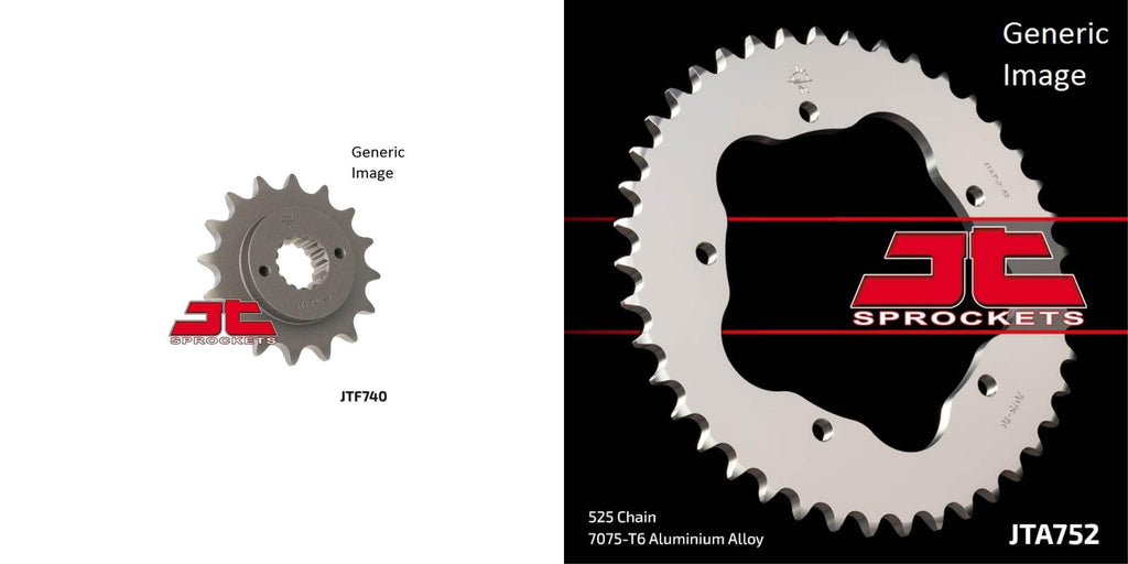 Front & Rear Sprocket Kit for Street DUCATI 996 Biposto 1999-2001