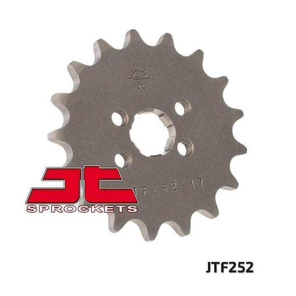 JT SPROCKETS Body Hardware Steel Front Sprocket 17T for Street HONDA CT70 1971