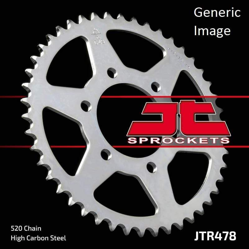 JT Sprockets Body Steel Rear Sprocket 43T for Street KAWASAKI ZX636 ZX-6R 2003-2004