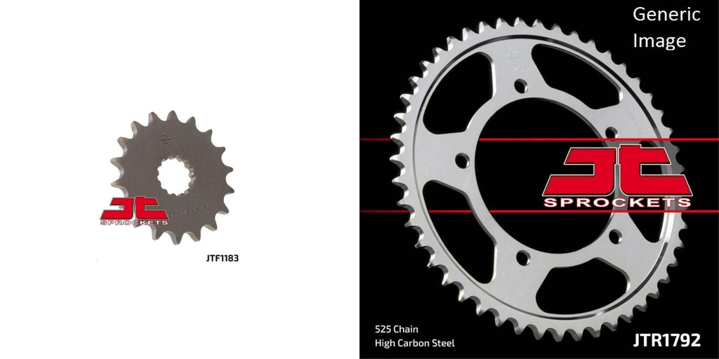 Front & Rear Sprocket Kit for Street TRIUMPH 865 Thruxton 2007-2015
