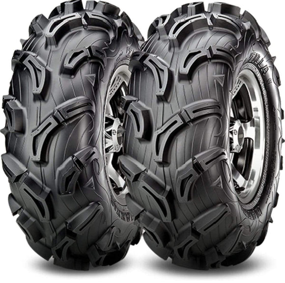 Maxxis Tires Set of 2 Maxxis Zilla Rear ATV UTV Tires AT27X11-12 6Ply