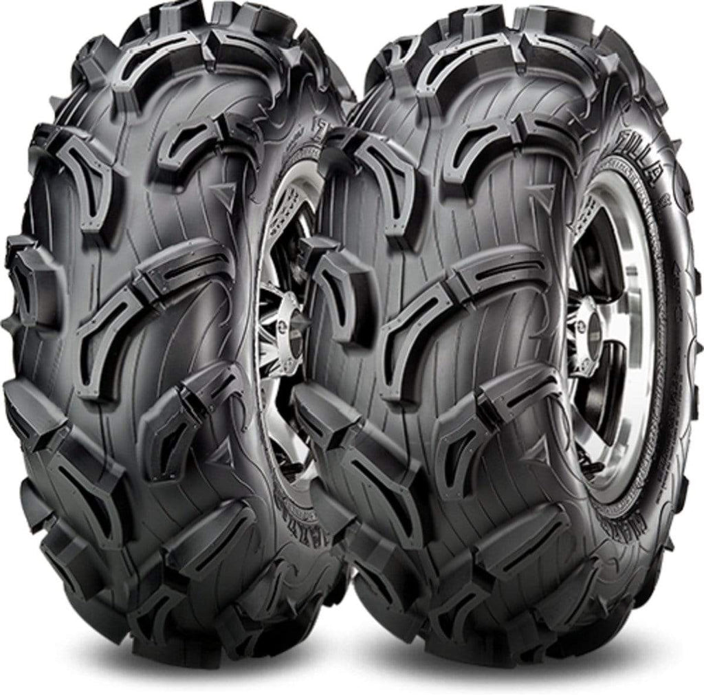 Maxxis Tires Set of 4 Maxxis Zilla ATV UTV Tires Front AT30X9-14 Rear AT26X11-14 6Ply