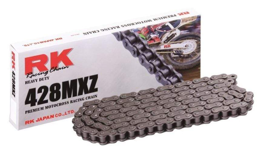 RK 428MXZ Natural Heavy-Duty Chain 126 links for ATV/UTV