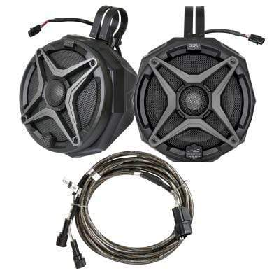"SSV WORKS 6 1/2"" 120 Watt WP System Add on Speakers with Cage Mount Clamps"