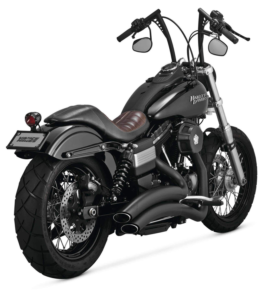 Vance & Hines Super Radius Exhaust Black - 46053