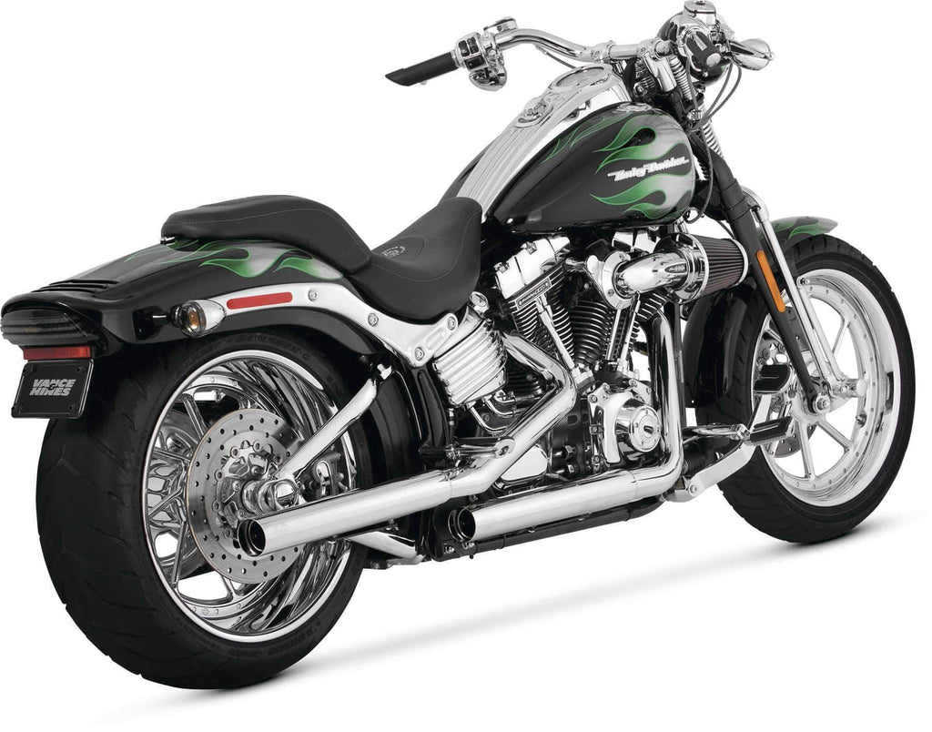 Vance & Hines 16831 Straightshots HS Slip-Ons Chrome