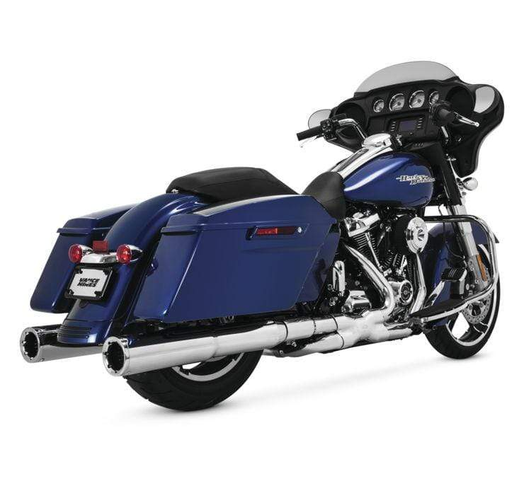 Vance & Hines 16832 Power Duals Chrome 09-15 Tour Fits