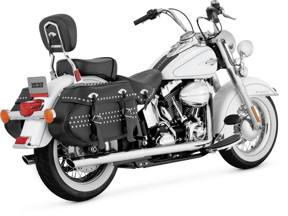 Vance & Hines Motorcycle Mufflers & Systems Vance & Hines 16893 Softail Duals Exhaust System