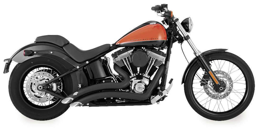 Vance & Hines 46069 Big Radius 2-Into-2 Black VH-0234 1800-2090