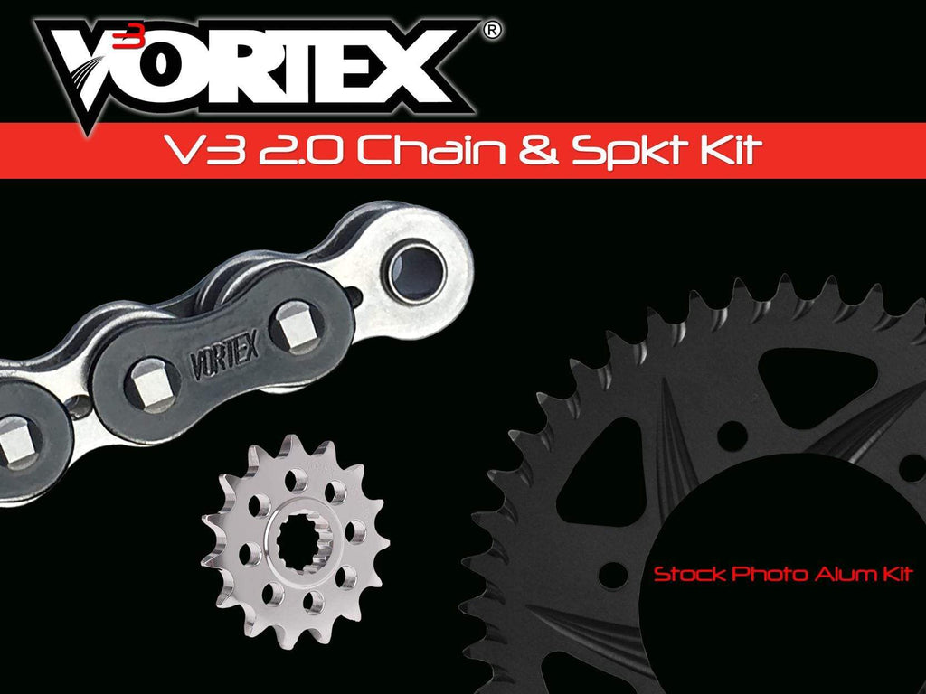 Vortex Black GFRA 520RX3-108 Chain and Sprocket Kit 15-46 Tooth - CK6338