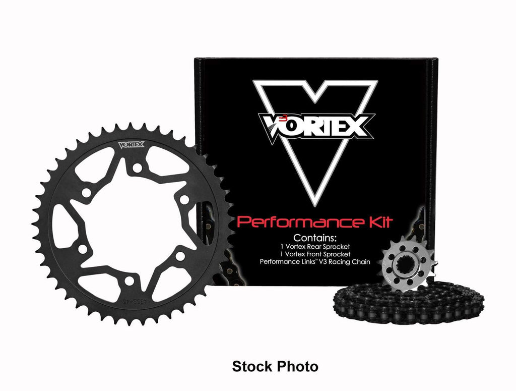 Vortex Black GFRA 520SX3-112 Chain and Sprocket Kit 15-43 Tooth - CK4212