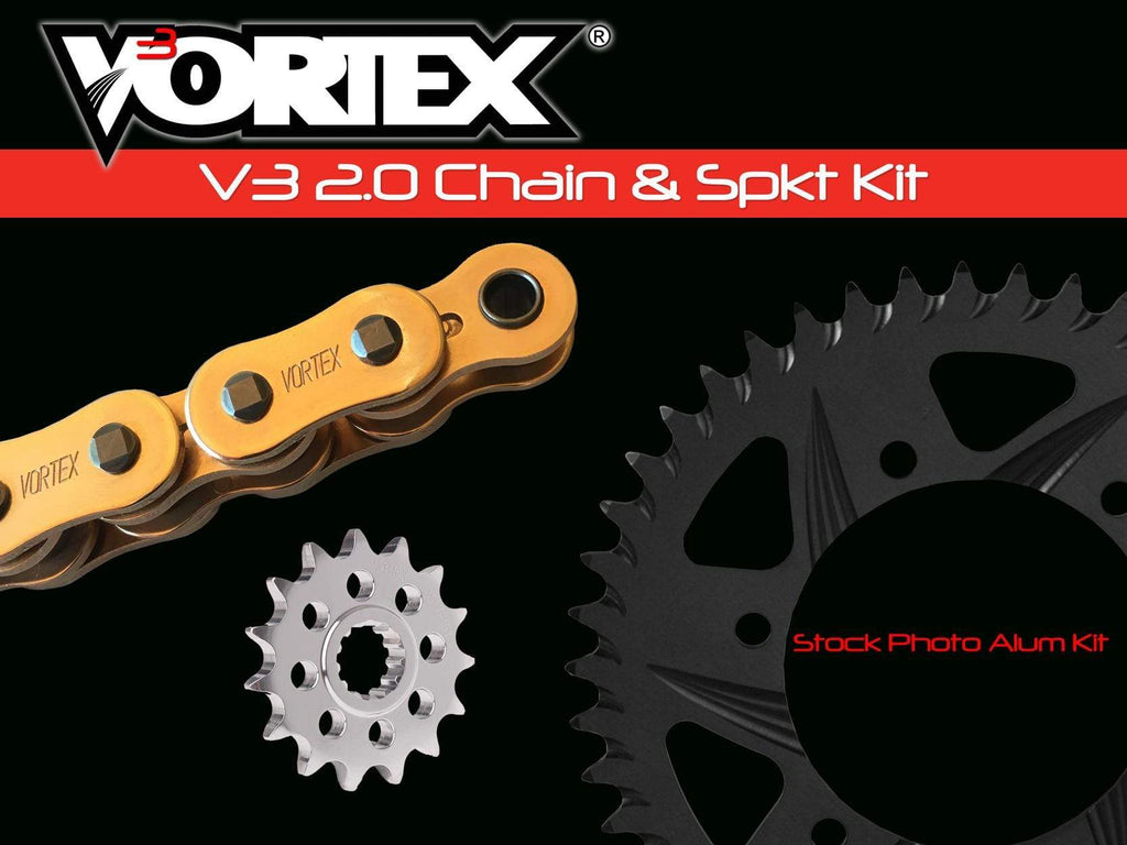 Vortex Gold GFRA G520SX3-108 Chain and Sprocket Kit 14-37 Tooth - CKG2257