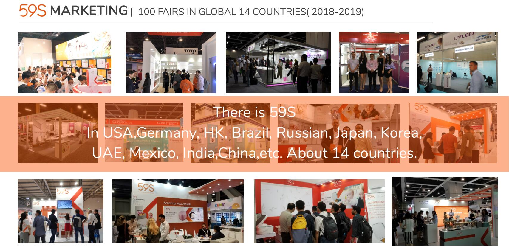 59S Fairs Countries Launched