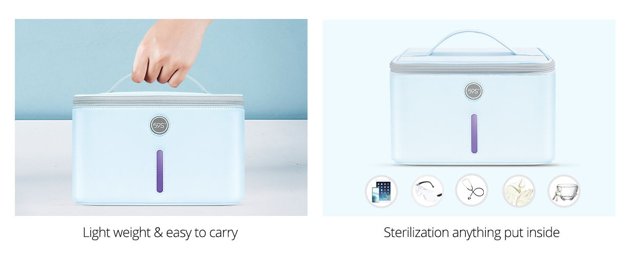 uv light sterilizer bag