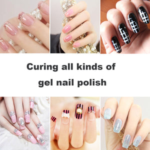 nail lamp curing all gels