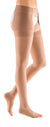 mediven plus, 40-50 mmHg, Thigh High with Waist Attachment, Open Toe