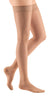 mediven sheer & soft, 15-20 mmHg, Thigh High with Lace Top-Band, Closed Toe