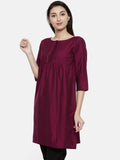 Wine Classic Top  - AS0111 - Asmi Shop