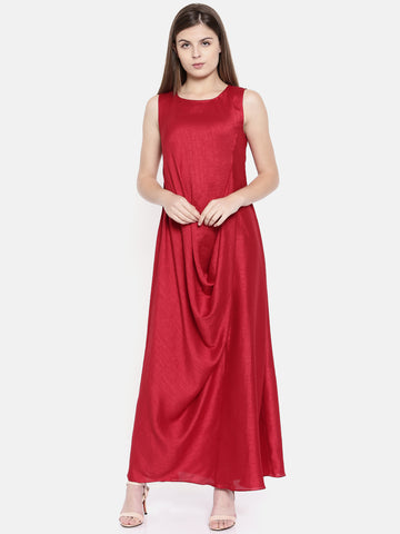 Dress Drape Dress - AS0176