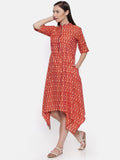 Ikat Weave Dress - AS018 - Asmi Shop
