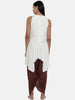 Off White,Moss Crepe,alter neck top - AS0376