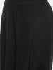 Black, Cotton silk, Dhoti pant - ASDP019