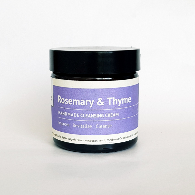 Improve: Rosemary & Thyme Cleansing Cream