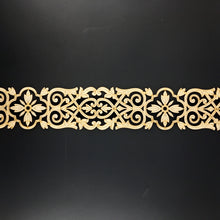 Load image into Gallery viewer, Moroccan Decorative Laser Cut Craft Wood Work Border Panel (B-001)