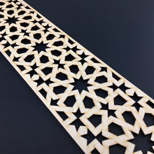Load image into Gallery viewer, Moroccan Decorative Laser Cut Craft Wood Work Border Panel (B-002)